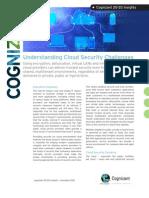 Understanding Cloud Security Challenges