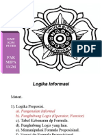 Aamg01 Logika Informatika Pendahuluan Burke Daliyo 0708