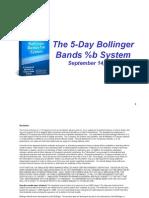 PercentB Bollinger