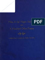 Charles Frederick White--Plea of the Negro Soldier, And a Hundred Other Poems (c 1908)
