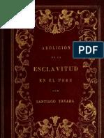 Abolición de la esclavitud en el Peru (1855)