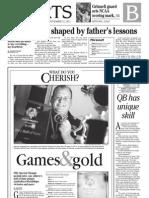 Sports front 1B - York Daily Record/Sunday News - Thursday, Nov. 22, 2012