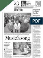 Living cover 1C- York Daily Record/Sunday News - Thursday, Nov. 22, 2012