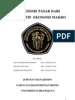 Mekanisme Pasar Dari Perspektif Ekonomi Makro