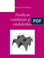 Torresani B. Meyer Y.-analyse Continue Par Ondelettes-Springer EDP Sciences(1995)