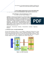 IMPLEMENTING AN OUTCOMES-BASED EDUCATION FRAMEWORK 