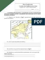 B.1 - Teste Diagnóstico - O Clima - Pressão Atmosférica (1)