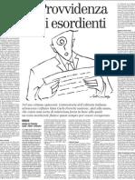 Recensione di Controstoria dell'editoria italiana attraverso i rifiuti - Il Manifesto 24.11.2012