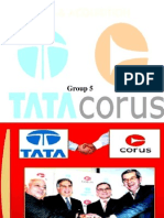 Tata Corus Ppt Group 5