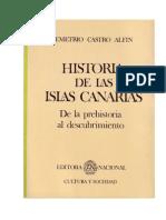 Historia de Las Islas Canarias-D. Castro Alfin