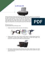 Cara Pasang Infus Printer HP Deskjet 1000