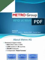 RFID at Metro Group