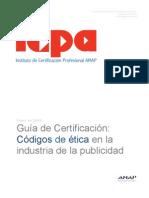 ICPA Codigos Etica 26ene2009