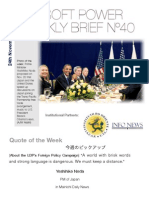 J-Soft Power Weekly Brief 40
