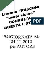 Elenco Libri Usati24112012 Autore