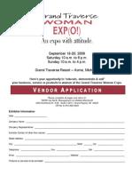 Grand Traverse Woman Expo Application 09