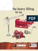 Thern Winch Mini-catalog