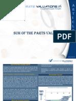 Corporate Professionals Sum of Parts Valuation