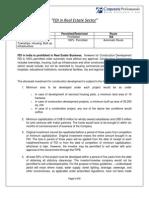 Corporate Professionals FDI Real Estate