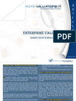 Corporate Valuations-Enterprize Value