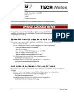 En TN 2000-10-0001 Oracle Notes OAS50 Rev-B