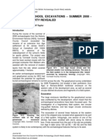 CBA-SW Journal No.22 - Camelford School Excavations, Summer 2008 - Iron Age Activity Revealed - Andy M. Jones & Sean R. Taylor.