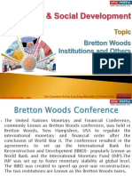 27(A) Bretton Woods Institutions and Others