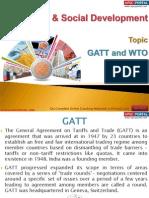 27(B) GATT and WTO