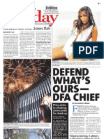 Manila Standard Today - Sunday (November 25, 2012) Issue