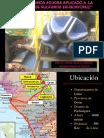 Termodinamica Acuosa Aplicado a La Flotacion de Sulfuros en Iscaycruz