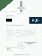 dopis predsednika vrhovnega sodišča rs 21.11.2012