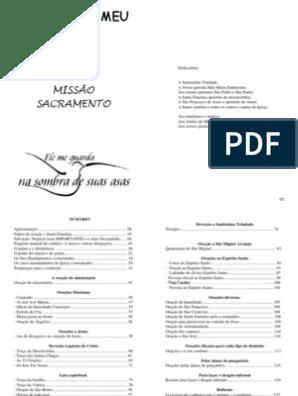 Livro De Oracao Padrao Pdf Missa Liturgia Eucaristia