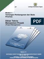 Modul 1 Eselon 3 Manajemen Proyek