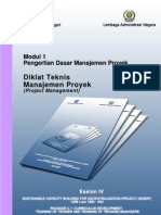 Modul 1 Eselon 4 Manajemen Proyek