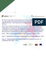 Formação Interna DGAE 2012 Cofinanciado pelo Fundo Social Europeu