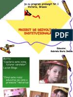 Proiect de Dezvoltare Al Unei Gradinite