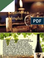 Obtinerea vinului
