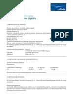 UY-DIR-0015 MSDS Dióxido de carbono Líquido