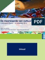 Presentatie Cultuureducatie Lode Vermeersch