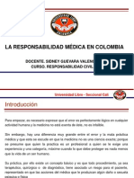 Responsabilidad Medica. Unilibre