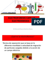 Electroosnosis y Electroforesis Capilar