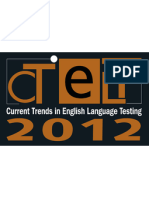 16th CTELT Conference Schedule Nov 22 & 23 2012
