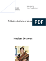 Neelam Dhawan Ppt