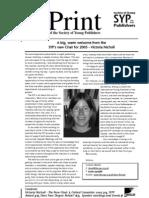 InPrint 104 March 2005