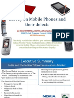 Survey on Mobile Phones and Their Defects