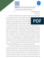 Tensión e hibridez, nuevos procesos identitarios en la literatura escrita en Patagonia