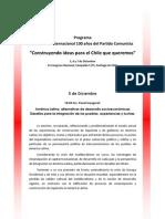 Programa Seminario Centenario