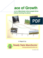 """In Place of Growth"" report by Steady State Manchester"