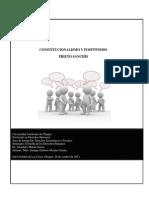 Ensayo Constitucionalismo y Positivismo. Luis Prieto Sanchis