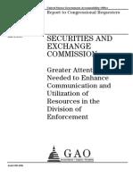 Gao Report Sec